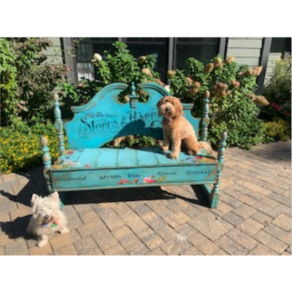 Unique Garden Bench