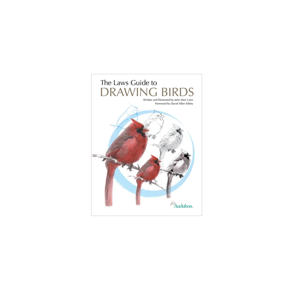 Signed Copy of the Laws Guide to Drawing Birds by John Muir Laws