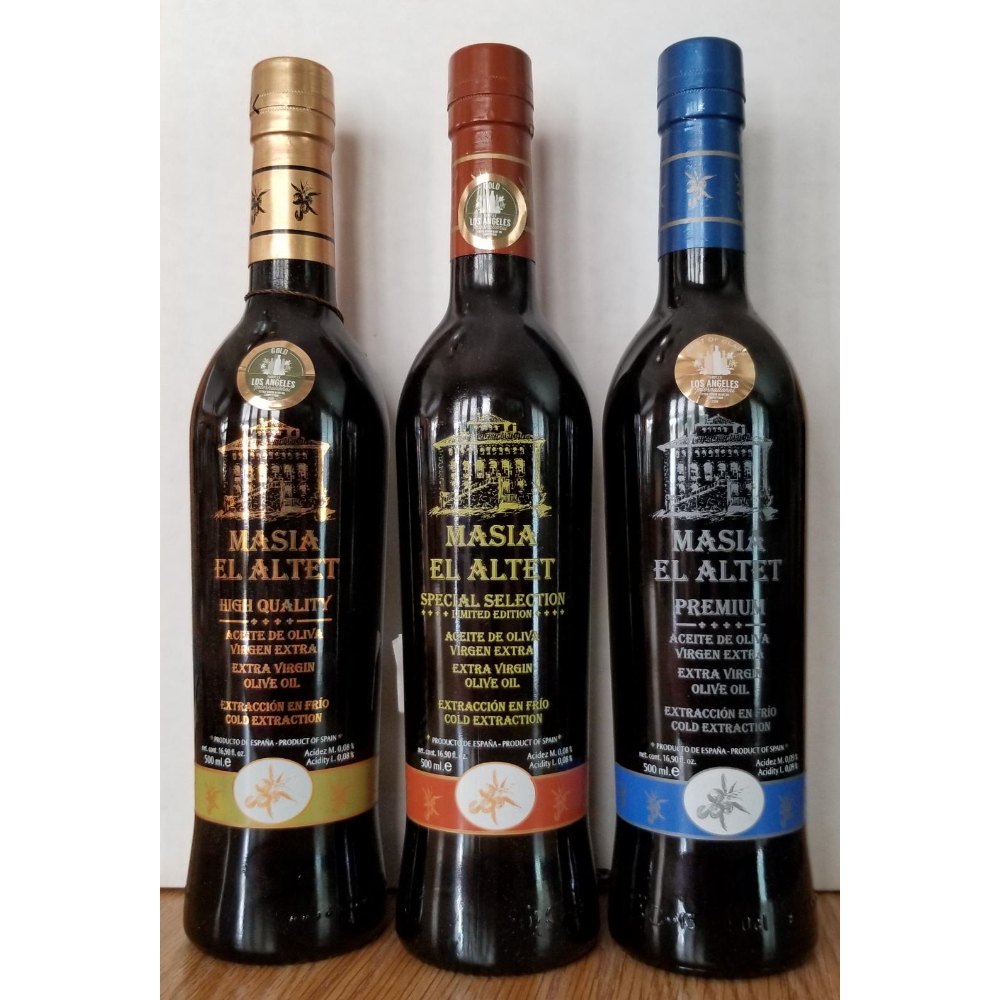 Masia el Altet S.L. Extra Virgin Olive Oil
