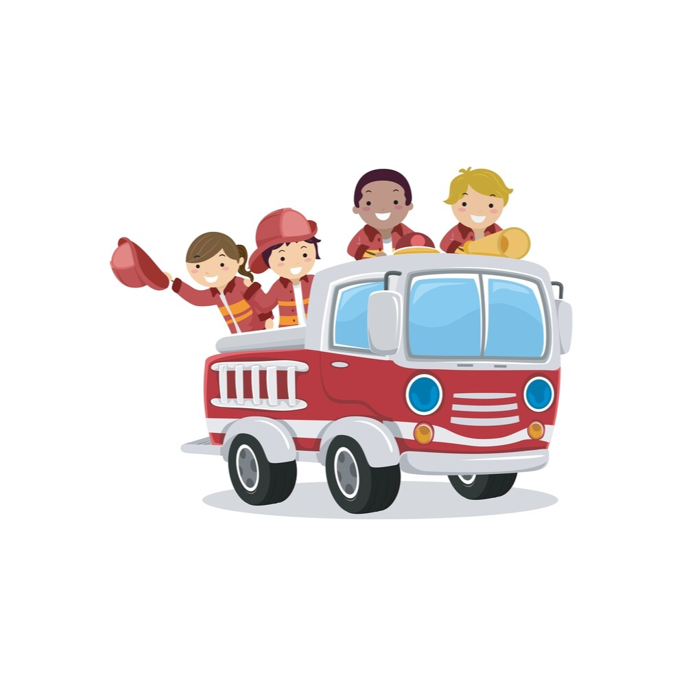 Fire Engine Ride & Party