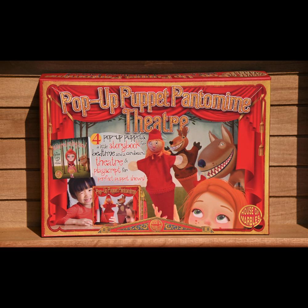 Pop-up Puppet Pantomime Theatre - Puppet Set