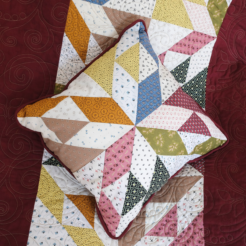 Arrowhead Quilt and Pillow