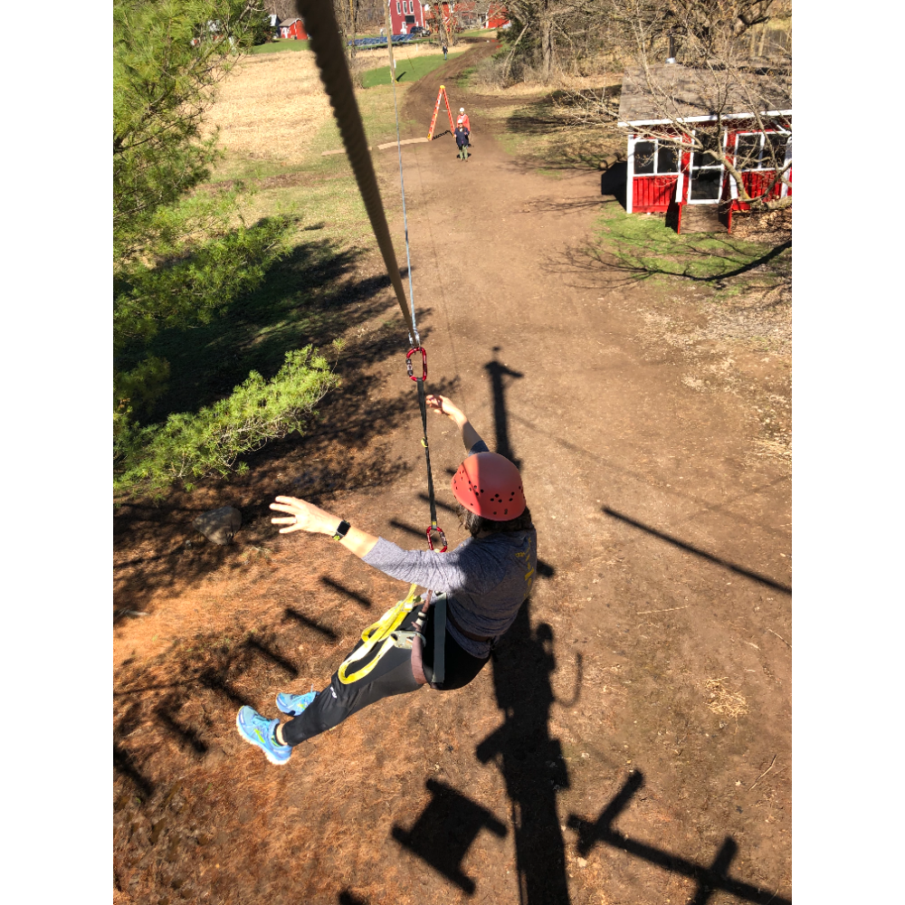 Family High Ropes Session at Osprey Wilds