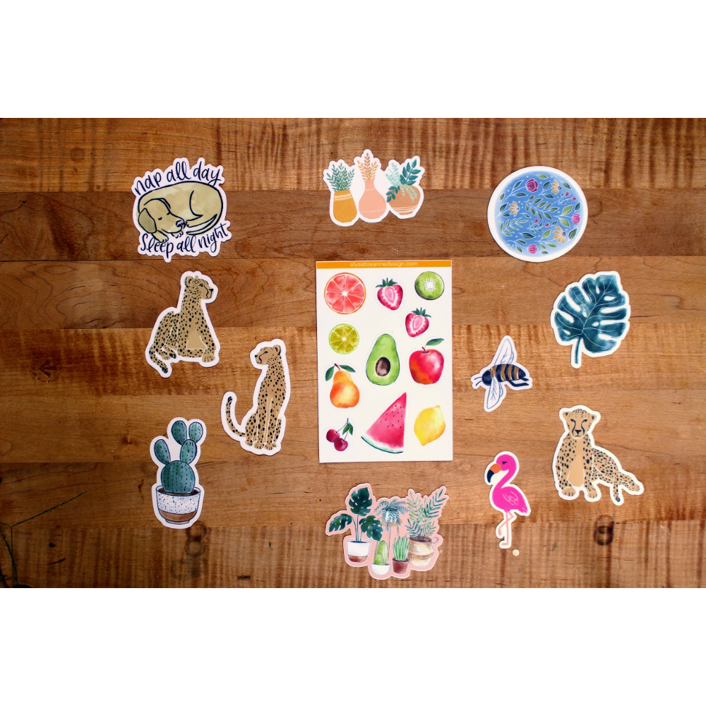 Sticker Pack by Elyse Breanne Design