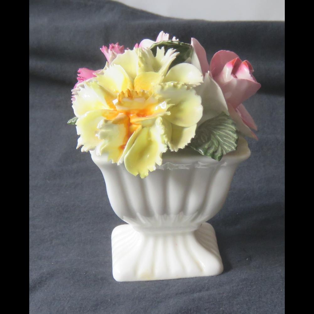 Thorley Bone China vase of Flowers