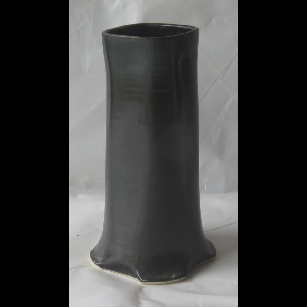 Squared Clay Vase