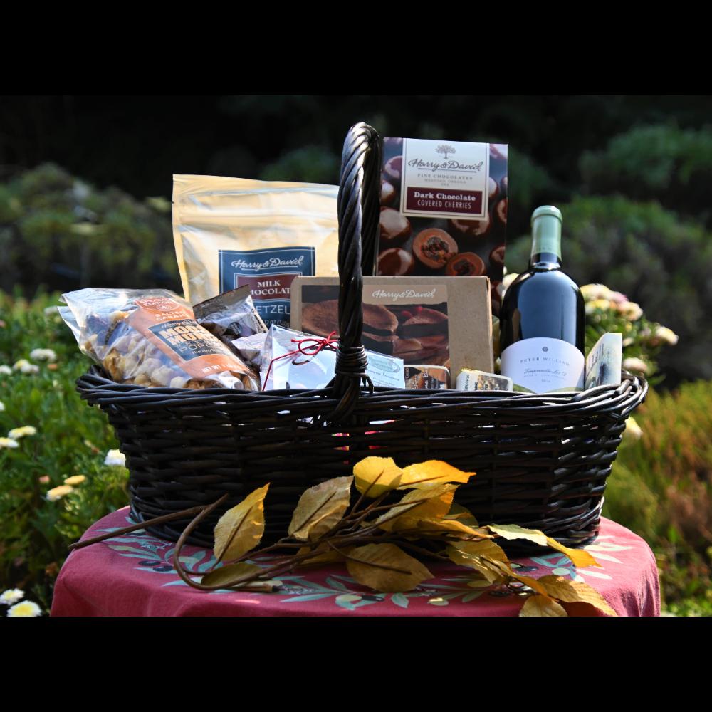Chocolate & Wine Basket