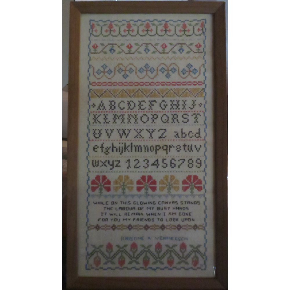 Counted Cross Stitch Sampler