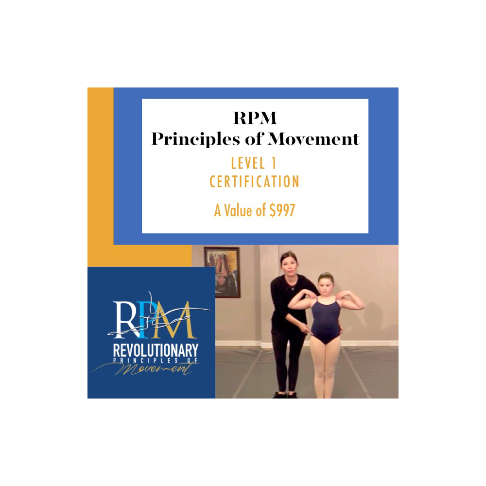 RPM (Revolutionary Principles of Movement)RPM Scholarship for Certification