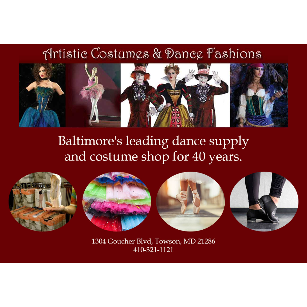 Costume Gift Certificate: Artistic Costumes & Dance Fashions