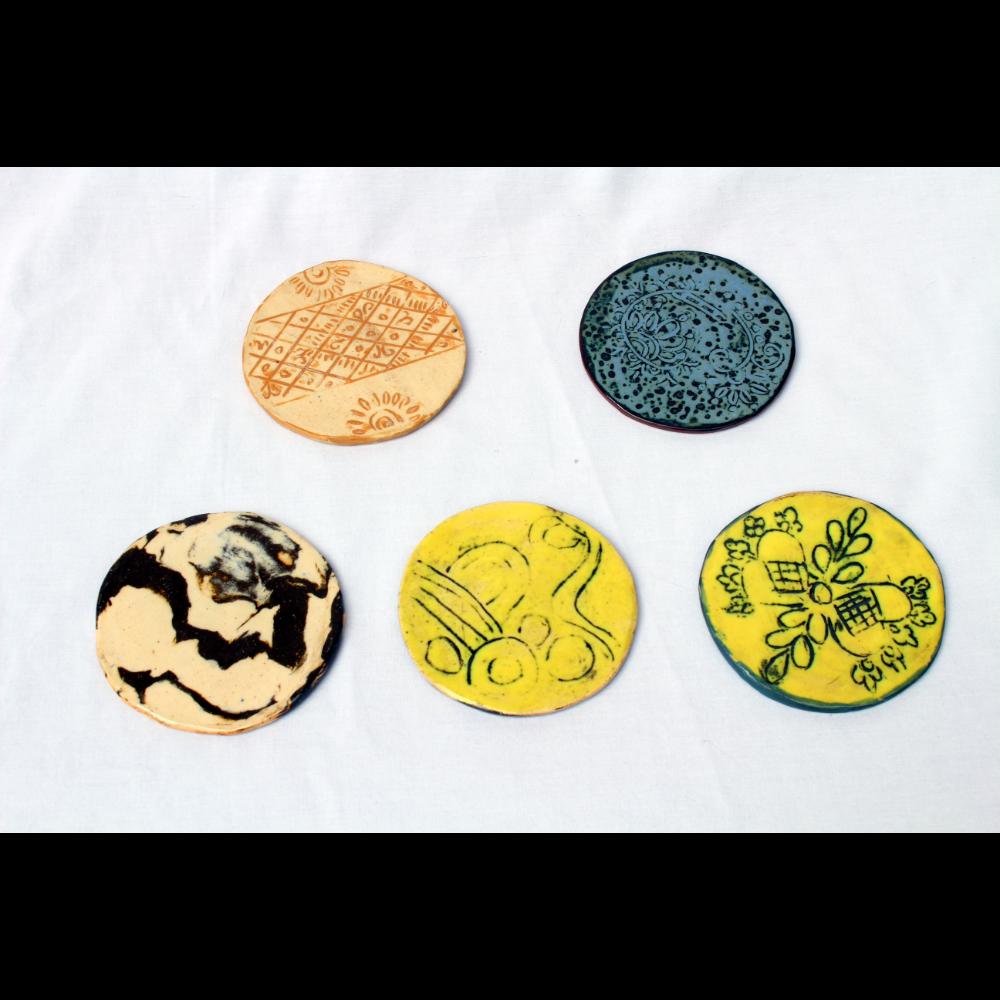 Ceramic Coasters (Set of 5)