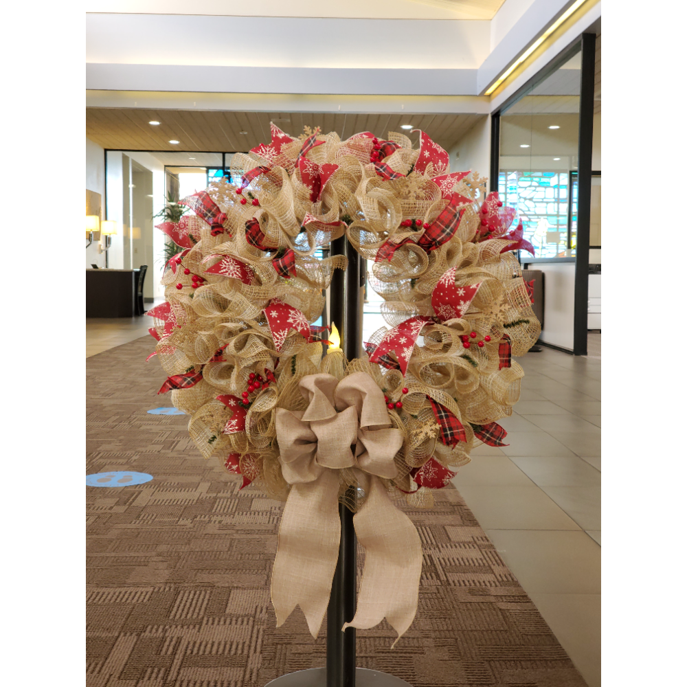 Pacific Western Bank Wreath