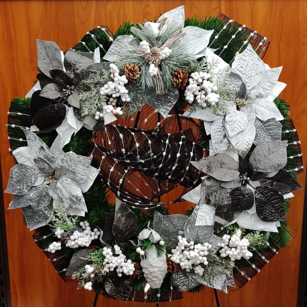 Bookstore Wreath