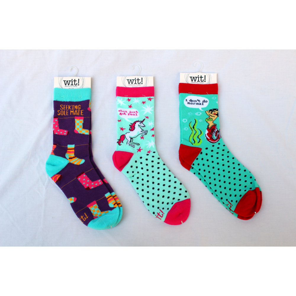 Quirky Socks (Set of 3)