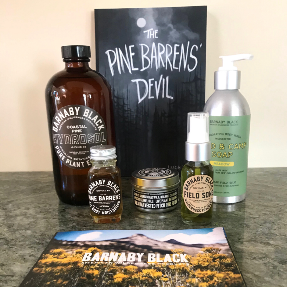 Natural Pine Barrens Product Set by Barnaby Black