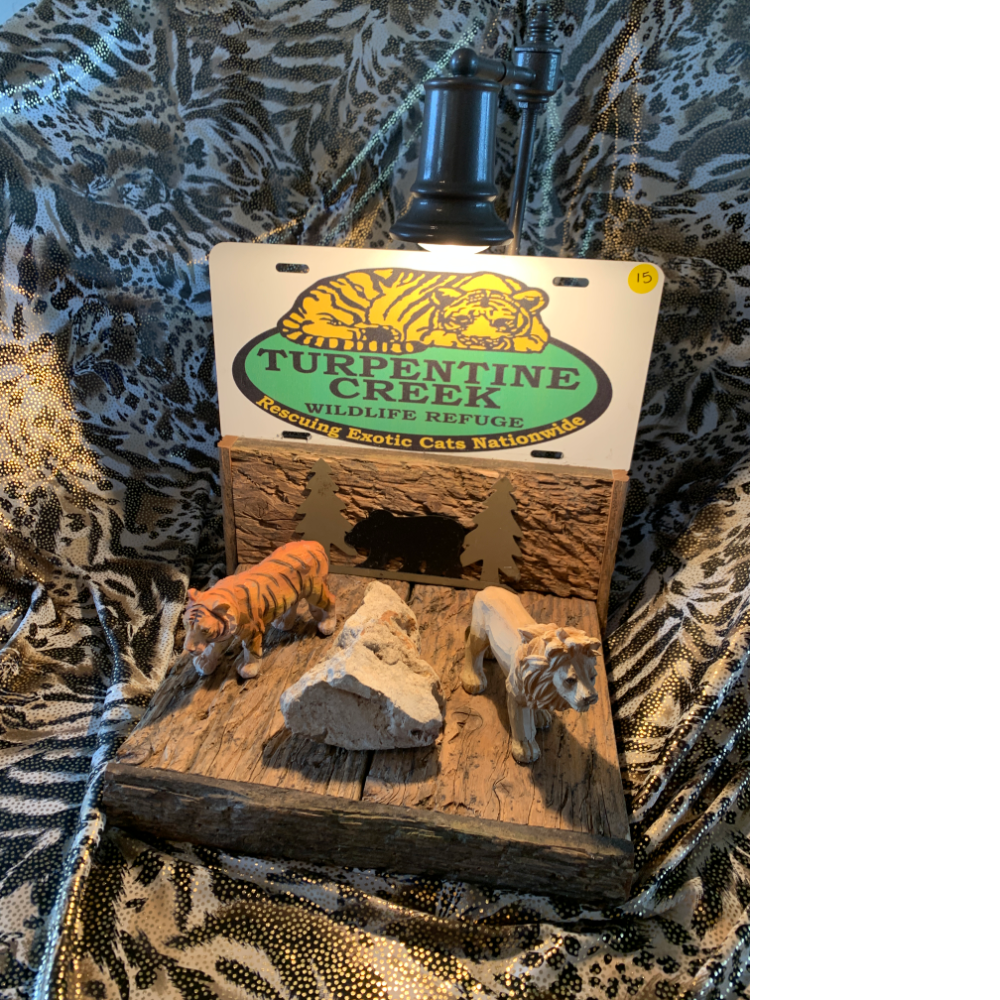 One of a Kind TCWR Animal Lamp