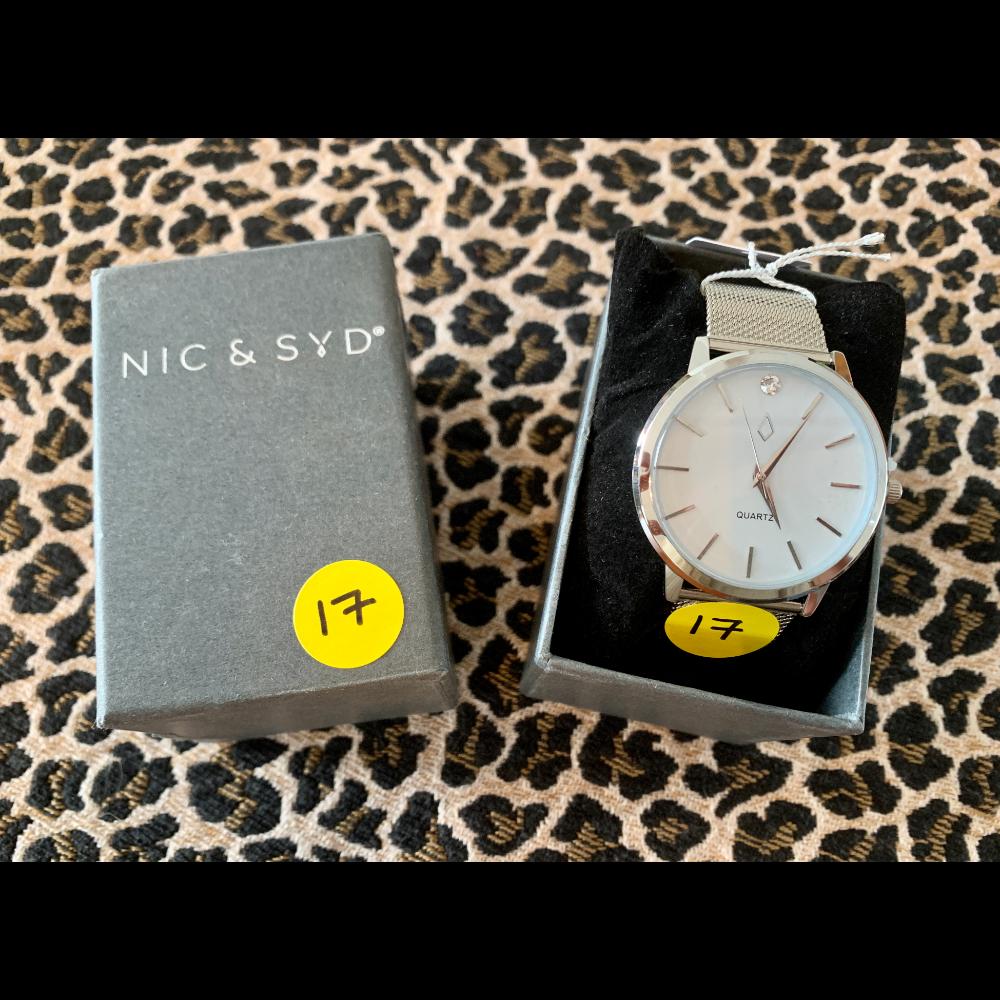 Nic & Syd Watch with Swarovski Crystal Jeweled Quartz