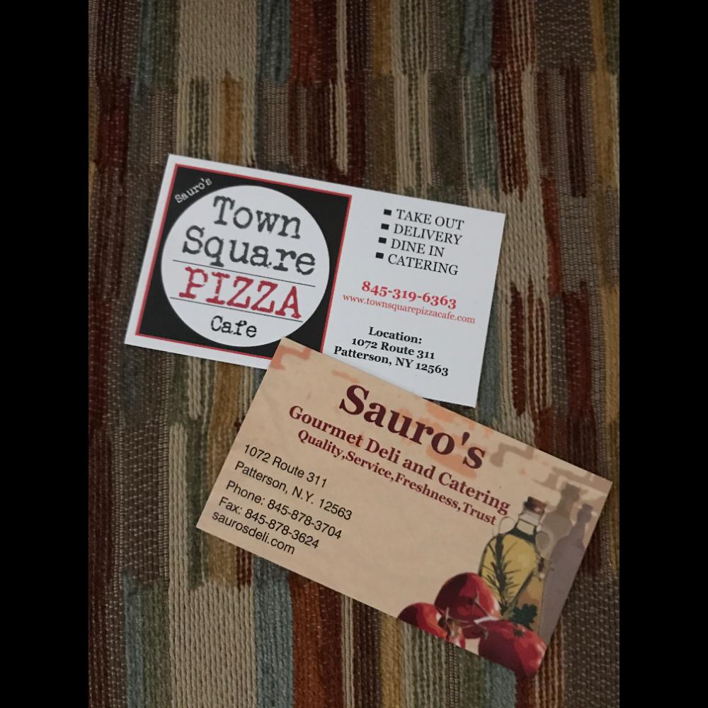 Sauro's Town Square Pizza Cafe/Gourmet Deli & Catering