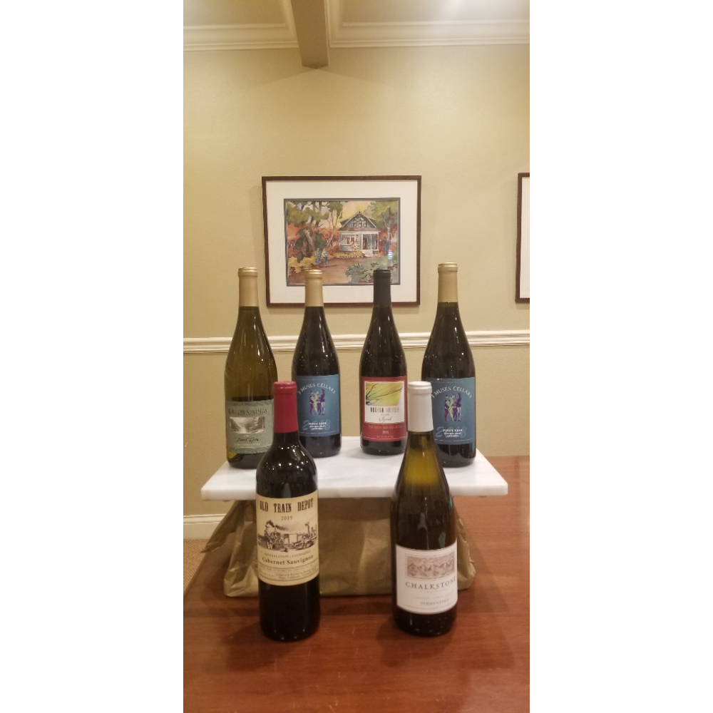 All Aboard!  Six Bottles of Central Coast Wines