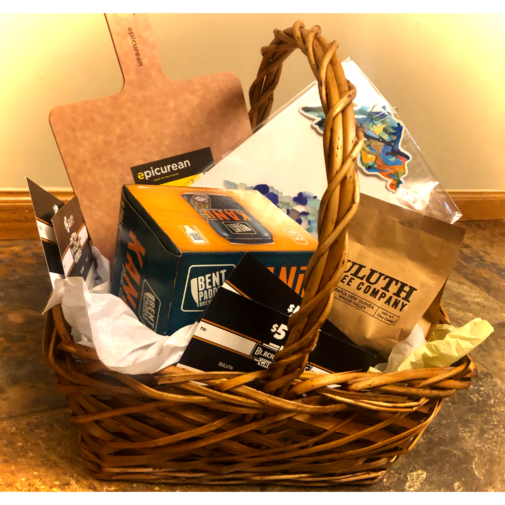 Handcrafted Local Duluth Goodie Basket
