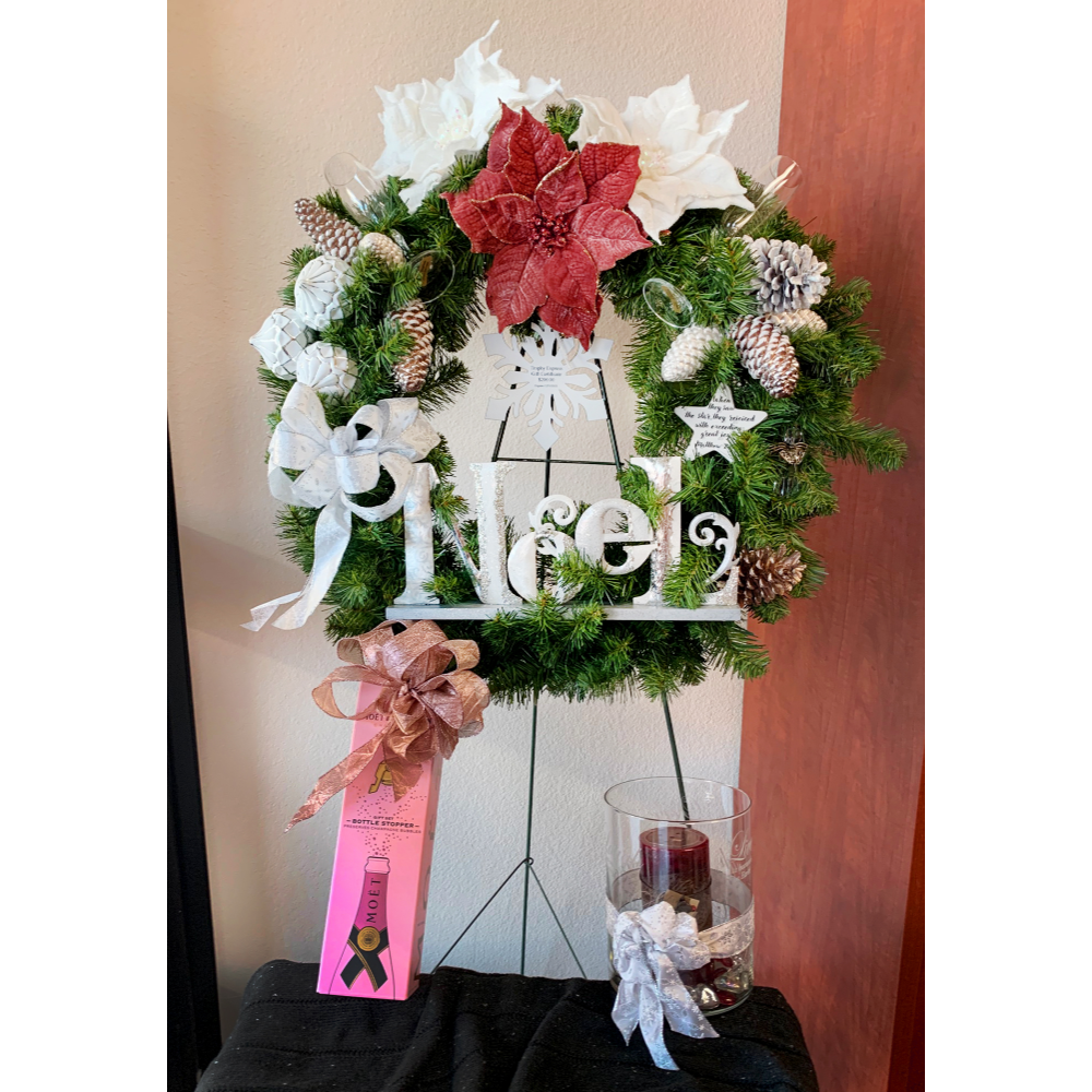 NOEL Wreath from Trophy Express