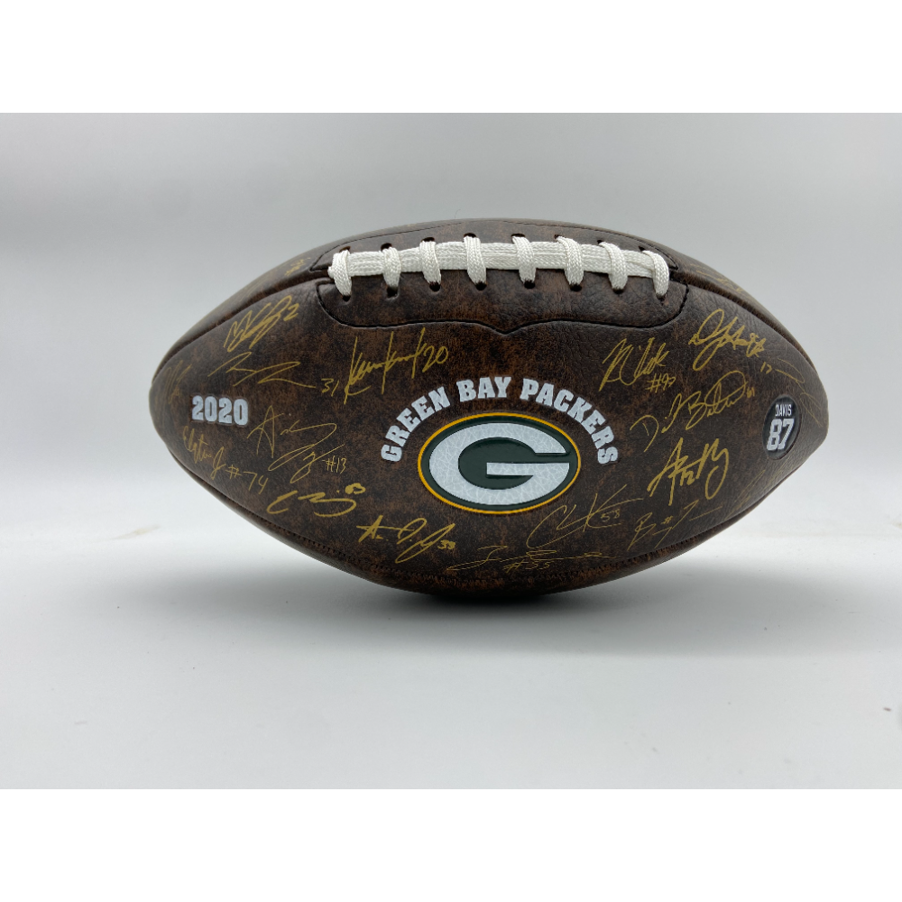 2020 Packers Football with Certificate of Donation