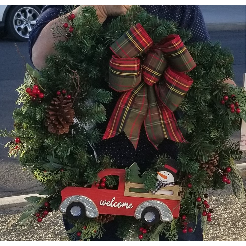 Bailey's Auto Repair Wreath
