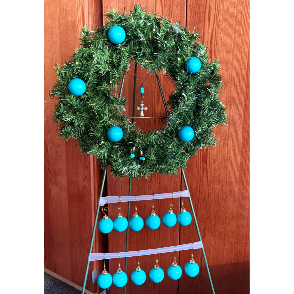 Momster's Teal Creation with Turquoise Jewelry