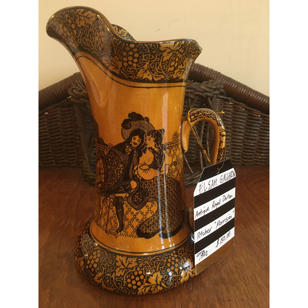 "Antique Pitcher - ""Morrisian"""
