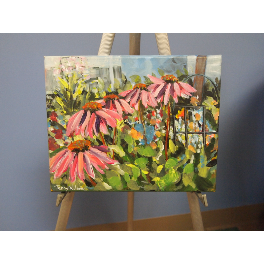Garden Beauties Canvas Painting