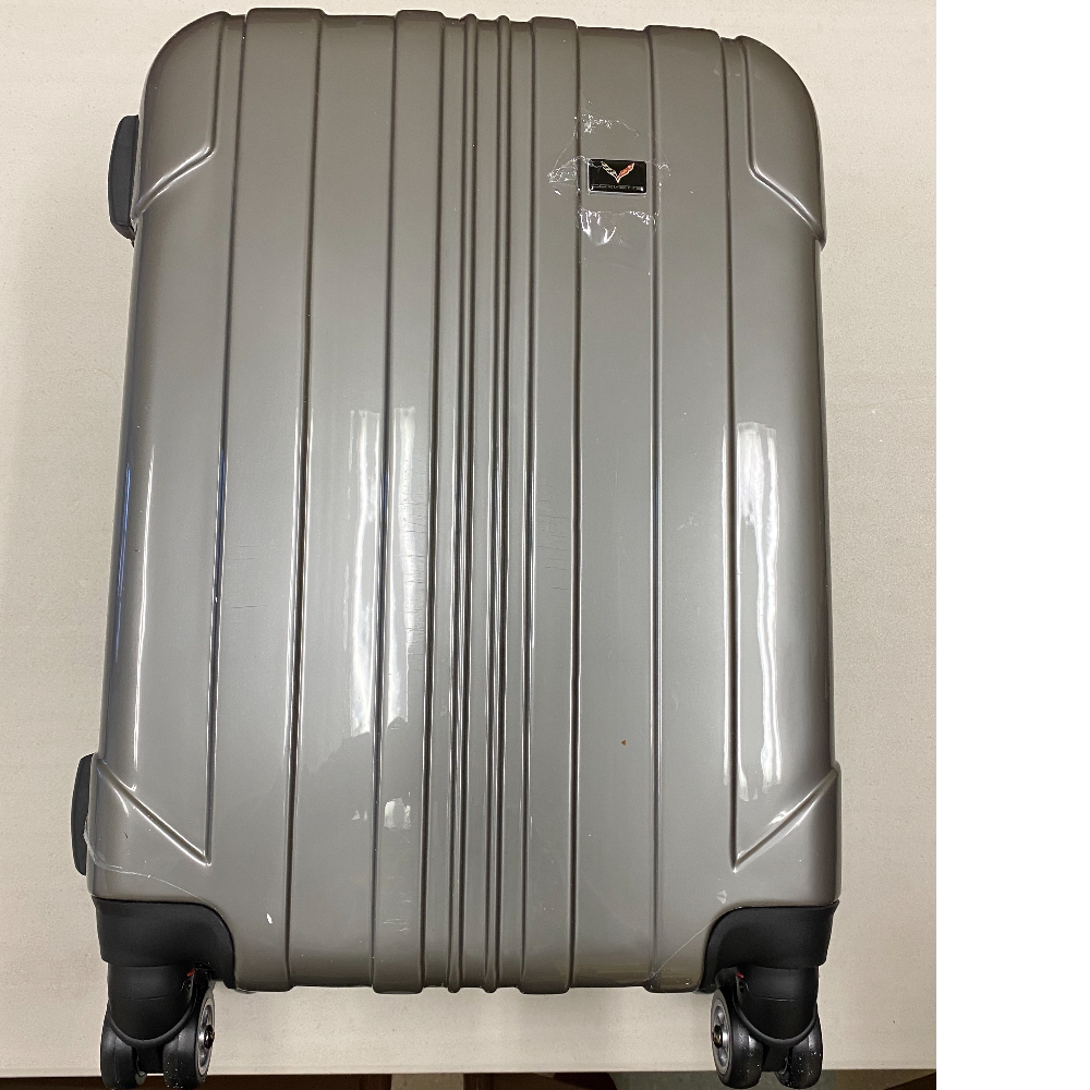Corvette Brand 22-Inch Hardside Spinner Upright Suitcase