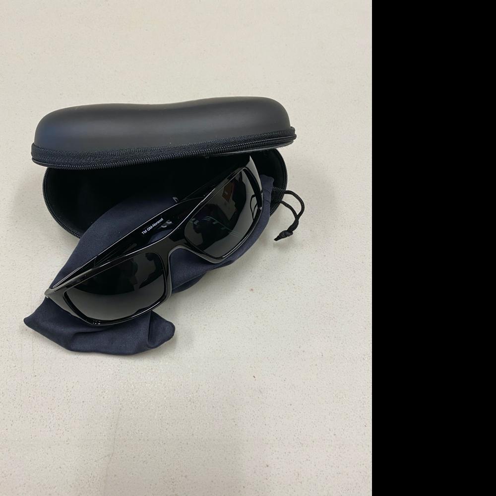 Corvette Brand Sunglasses, Bag, and Case