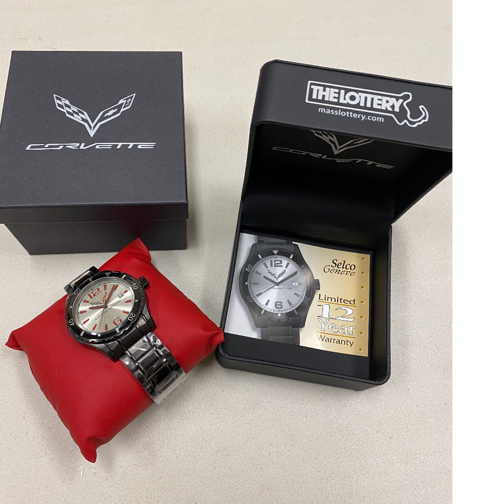 Corvette Brand Selco Geneve Watch