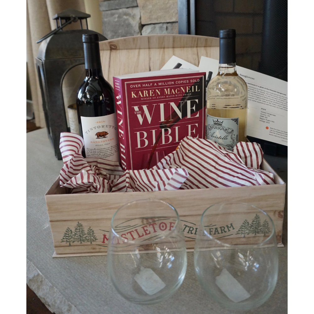Learn your Vino Gift Basket