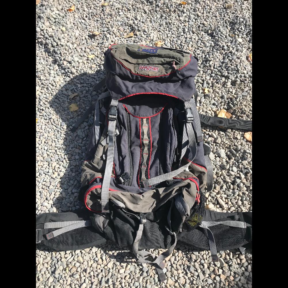 Jansport 'Alaska II' internal frame backpacking backpack