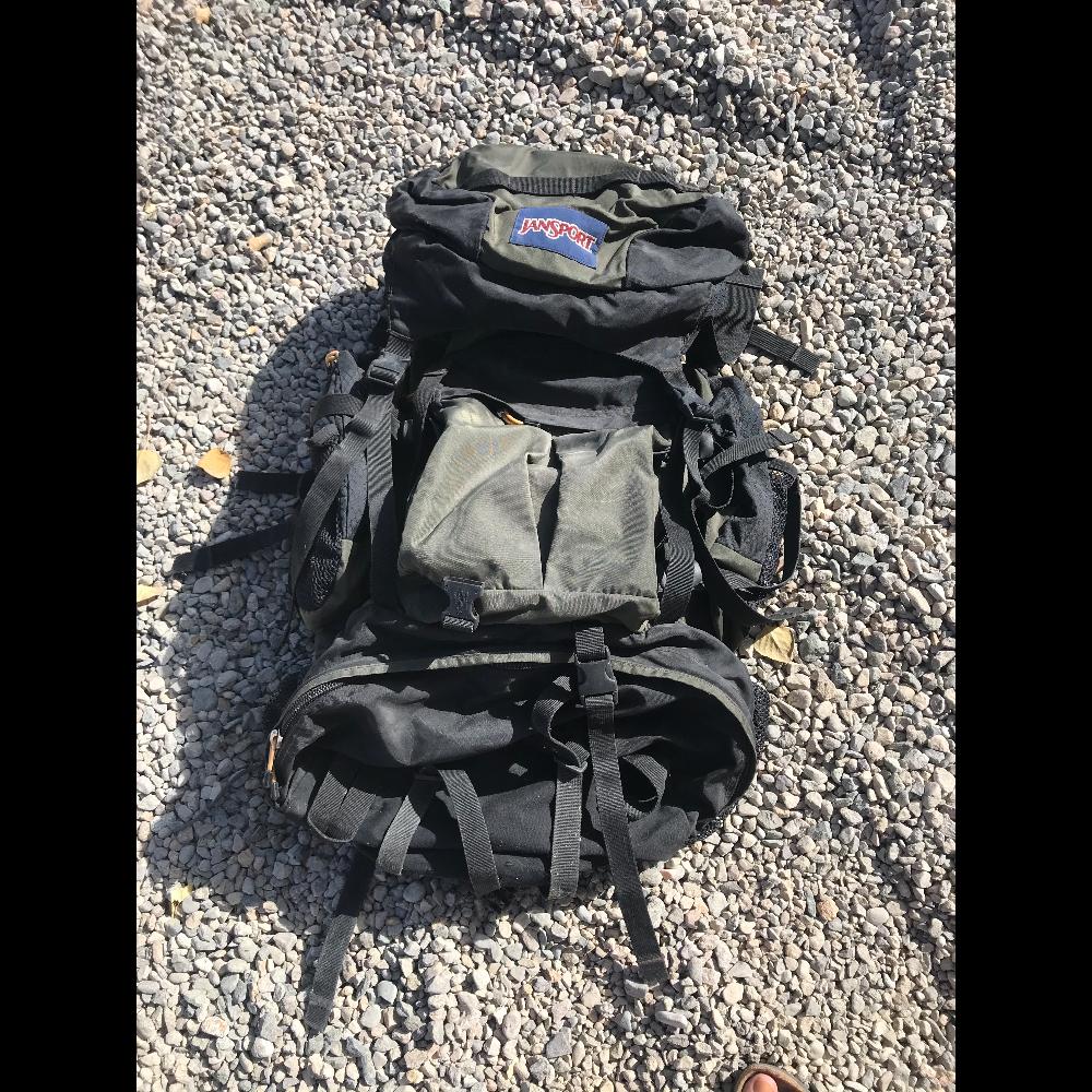 Jansport internal frame large backpacking backpack