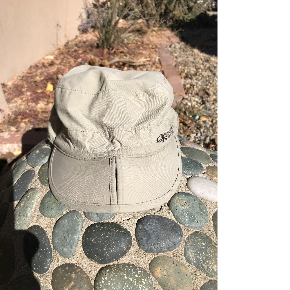 Outdoor research tan baseball style hat