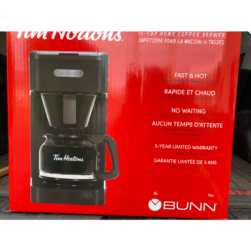 Tim Horton Coffee Maker
