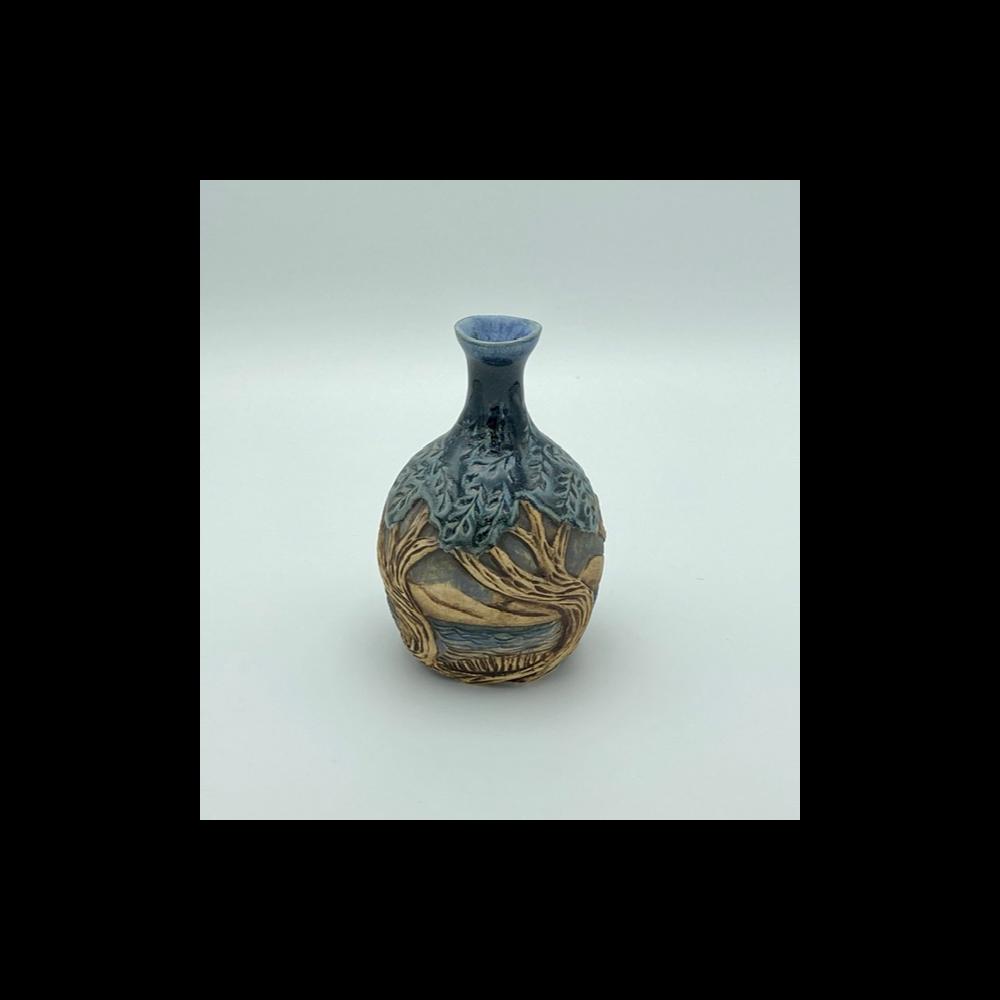 """6"""" Carved Vase"""
