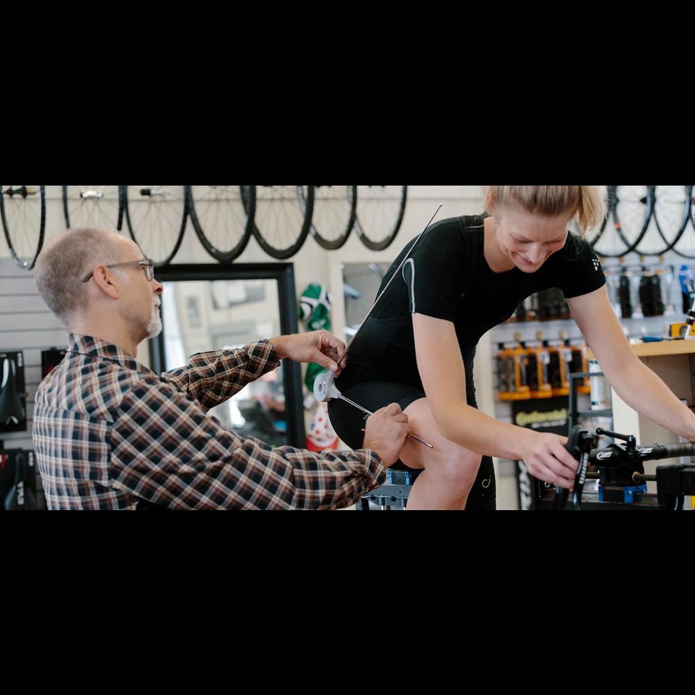 90 minute bike fitting session