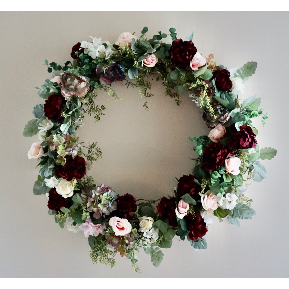 Welcoming Wreath Basket