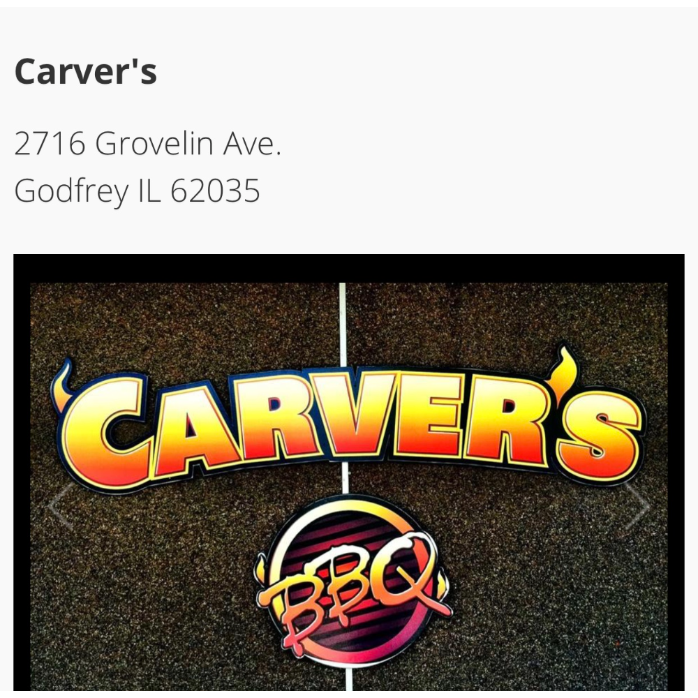 Carver's BBQ Gift Certificate