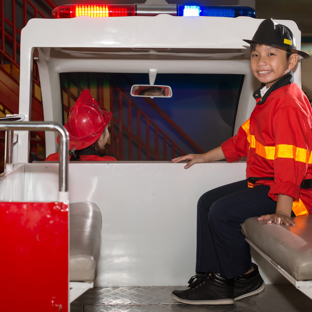 Future Fire Fighter's Birthday Bash