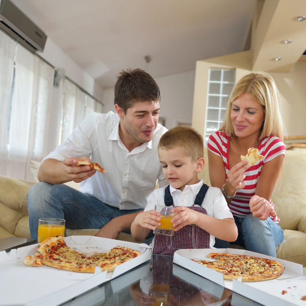 For the Pizza Loving Family