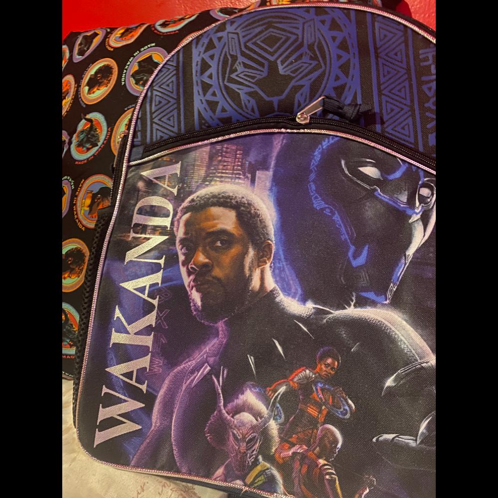 Black Panther Backpack ft. Chadick Boseman