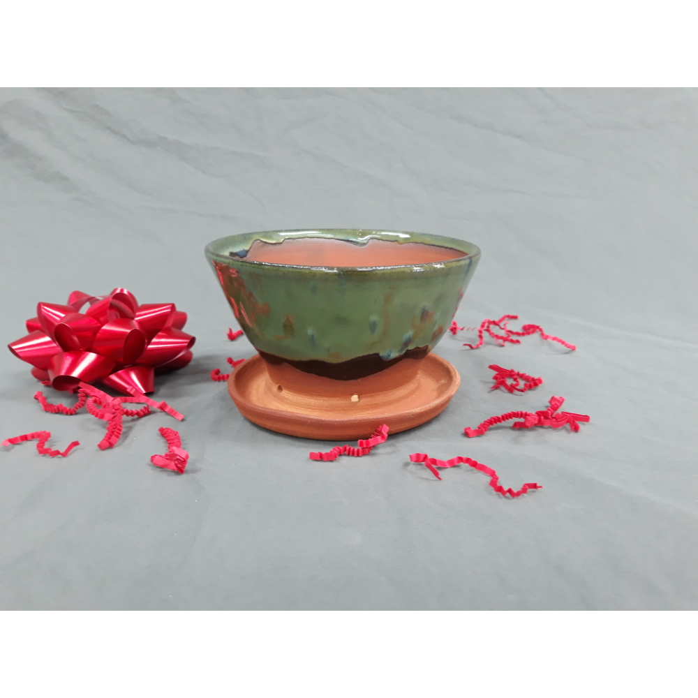 Handmade Clay Flower Pot