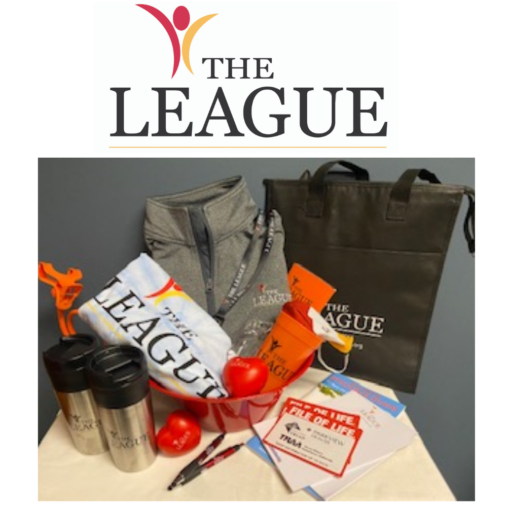"""The League Cares"" Swag Bag"