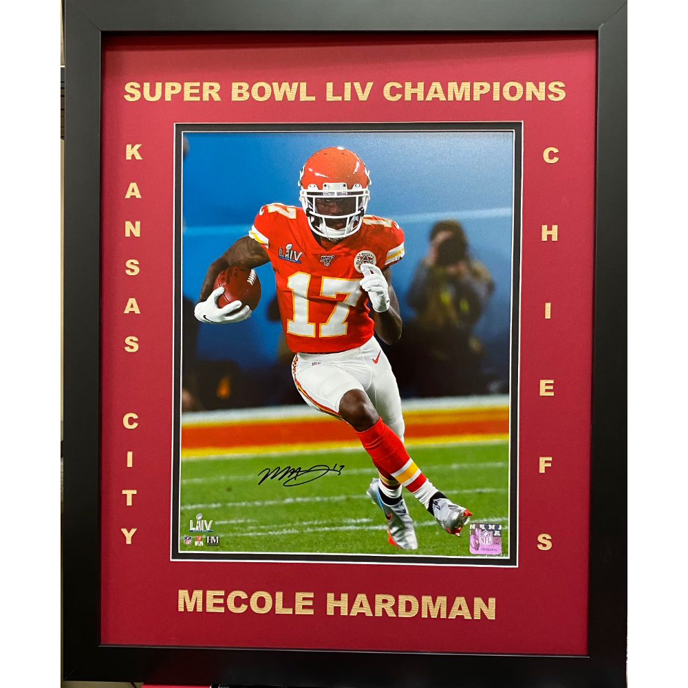 Mecole Hardman signed picture