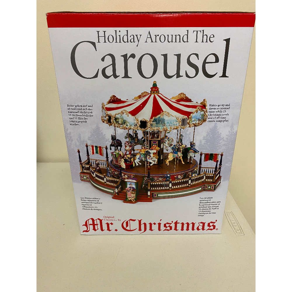 Musical Christmas Carousel