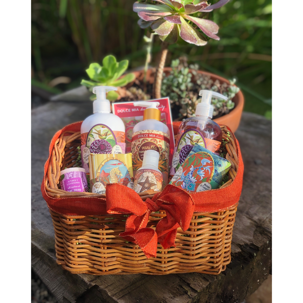 Body Care Basket from Dolce Mia